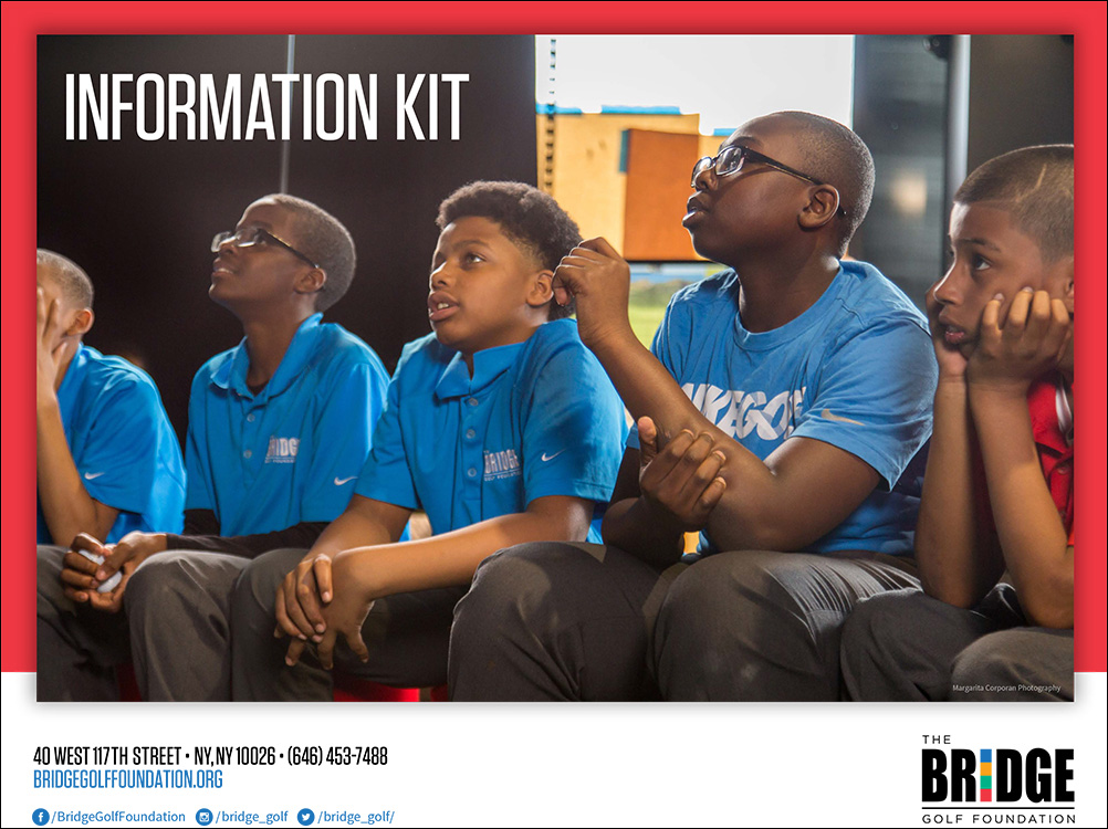 Bridge Golf Foundation Media Kit