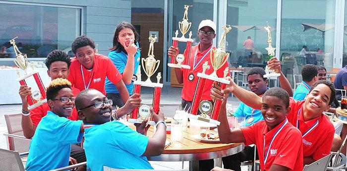 Bridge Golf Foundation par 3 trophy