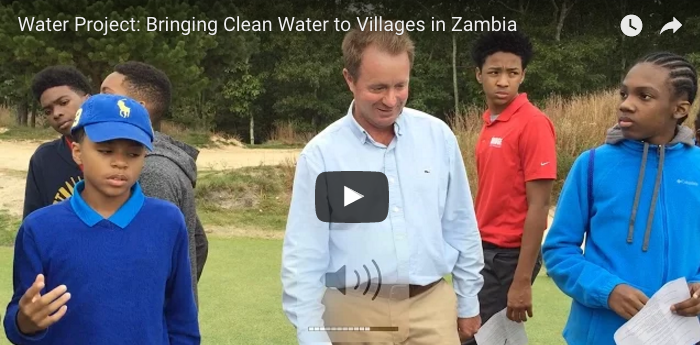 Water Project with Golf Fore Africa video