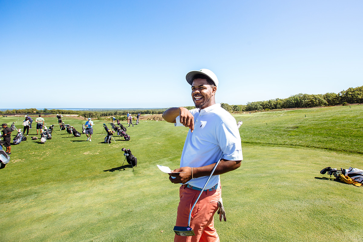 Earl Cooper of Wilmington, Del., was recently named one of the best young teachers in America by Golf Digest.