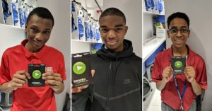 Yohance Whyte took first in the evening's competitions, Tariq Washington second, and Braylan Stewart third. They went home with Amazon gift cards.