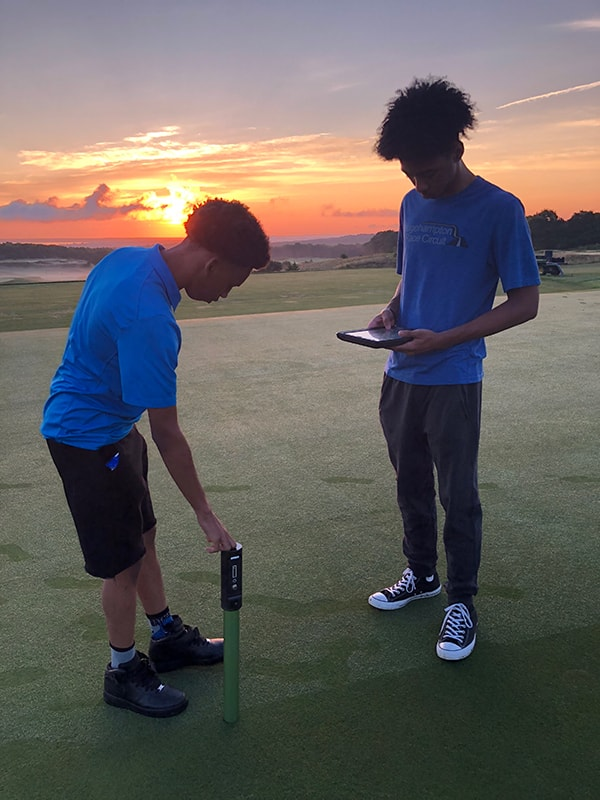Youth Works Students Spend Week At The Bridge The Bridge Golf