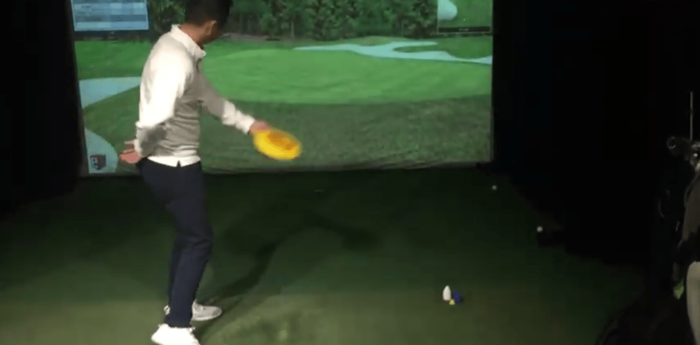brian hwang frisbee chipping drill