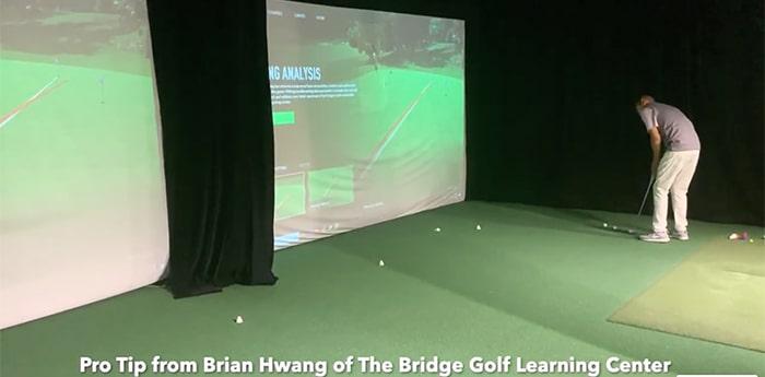 Brian Hwang putting tip screenshot