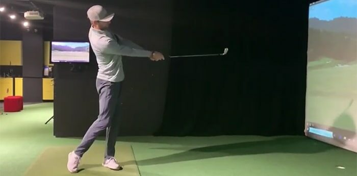 Michael Mancz headcover drill to stay connected screenshot