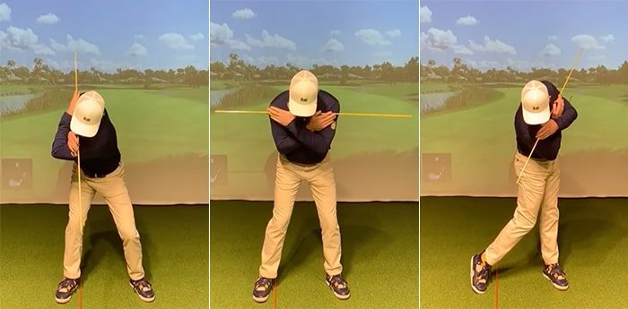 tyler lower power coil indoor golf drill